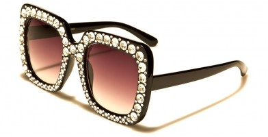 VG Square Rhinestone Sunglasses Wholesale RS1911