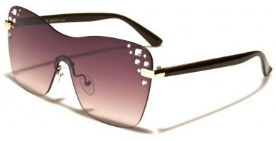 VG Rimless Rhinestone Wholesale Sunglasses RS1912
