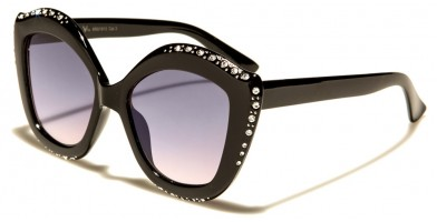 VG Oval Rhinestone Sunglasses Wholesale RS1913