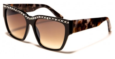 VG Rectangle Rhinestone Wholesale Sunglasses RS1926