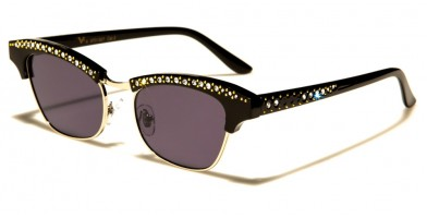 VG Oval Rhinestone Sunglasses Wholesale RS1927