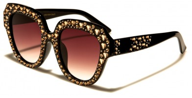 VG Oval Rhinestone Sunglasses Wholesale RS1934