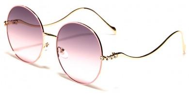 VG Round Rhinestone Sunglasses RS1951