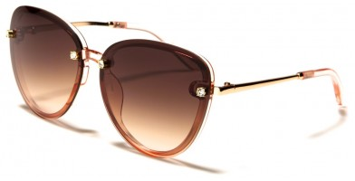 VG Oval Rhinestone Sunglasses in Bulk RS1984