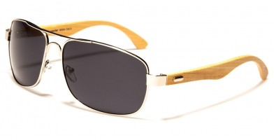 Superior Rectangle Bamboo Wholesale Sunglasses SUP88004