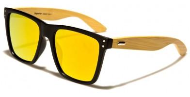 Superior Classic Wood Bulk Sunglasses SUP89003