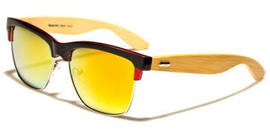 Superior Classic Wood Unisex Wholesale Sunglasses SUP89004