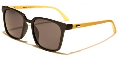Superior Wood Unisex Bulk Sunglasses SUP89008