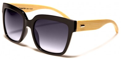 Superior Classic Bamboo Sunglasses in Bulk SUP89014