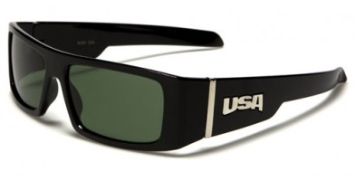 USA Glass Lens Men's Wholesale Sunglasses USA1004