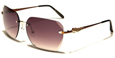 VG Rimless Women's Wholesale Sunglasses VG21066