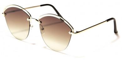 VG Semi-Rimless Women's Bulk Sunglasses VG21088