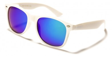 Classic Unisex Polarized Bulk Sunglasses W-1-POL-WHT-CM
