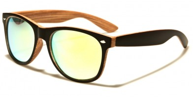 Classic Wood-Print Wholesale Sunglasses W-7855-SPECTRUM