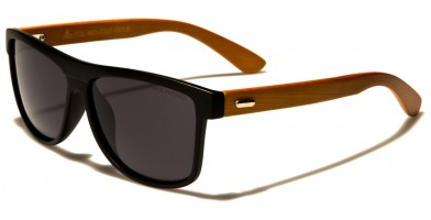 Classic Wood Polarized Sunglasses In Bulk WD-2003-POL