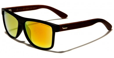 Classic Wood Polarized Sunglasses Wholesale WD-2004-CM-POL