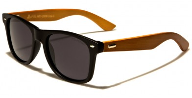 Classic Wood Polarized Sunglasses In Bulk WD-2005-POL