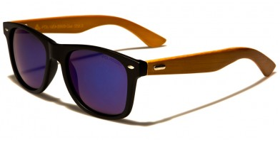 Classic Wood Polarized Sunglasses Wholesale WD-2006-CM-POL
