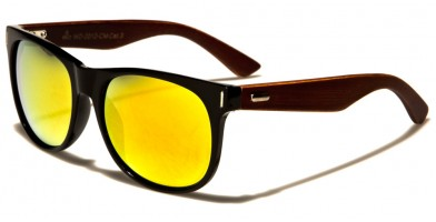 Classic Wood Unisex Wholesale Sunglasses WD-2012-CM