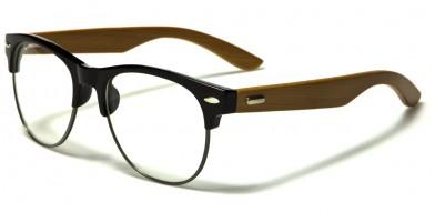 Classic Wood Unisex Bulk Glasses WD-2015-CLR