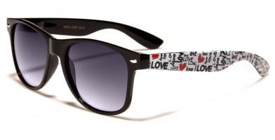 Classic Love-Print Unisex Sunglasses Wholesale WF01-LOVE