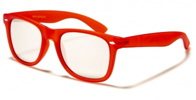 Classic Frosted Neon Frame Sunglasses in Bulk WF01-MTNEON