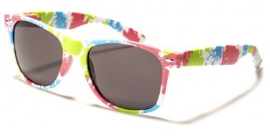 Classic Tie-Dye Retro Unisex Wholesale Sunglasses WF01-TYD2