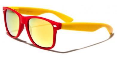 Classic Mirrored Unisex Sunglasses Wholesale WF012TRV
