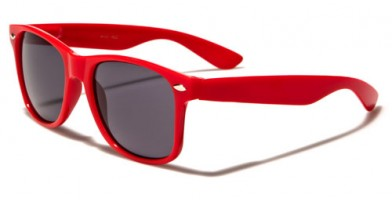 Classic Red Unisex Sunglasses Wholesale WF01RED