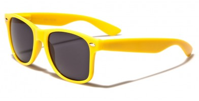 Classic Yellow Unisex Sunglasses Wholesale WF01YELLOW