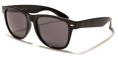 Classic Black Unisex Sunglasses Wholesale WF02-BLK