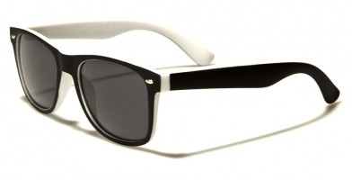 Classic Soft Rubber Unisex Sunglasses Wholesale WF04-2TST