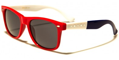 USA Flag Classic Unisex Wholesale Sunglasses WF04-USA