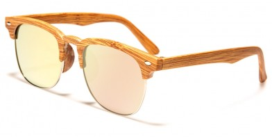 Classic Wood Print Wholesale Unisex Sunglasses WF13-WDCM