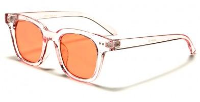 Classic Color Lens Unisex Sunglasses In Bulk WF41-CLR