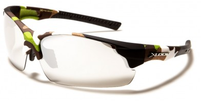 X-Loop Wrap Around Camouflage Sunglasses in Bulk X3626-CAMO