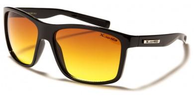 X-Loop Rectangle HD Lens Sunglasses in Bulk XHD3355