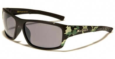 X-Loop Camouflage Men's Sunglasses In Bulk XL2573-CAMO