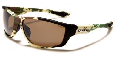 X-Loop Camouflage Rectangle Sunglasses in Bulk XL2575-CAMO