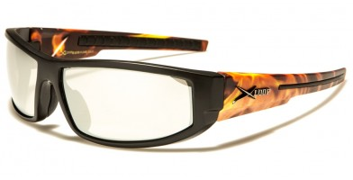 X-Loop Flame Print Men's Sunglasses in Bulk XL2578-FLAME