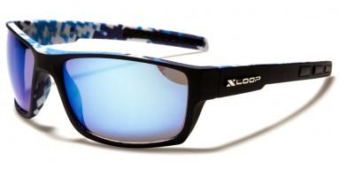 X-Loop Camouflage Men's Sunglasses in Bulk XL2590-CAMO