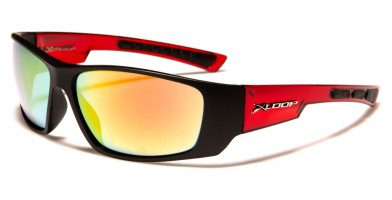 X-Loop Wrap Around Men's Wholesale Sunglasses XL2591
