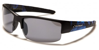 X-Loop Wrap Around Men's Wholesale Sunglasses XL2607-FLAME