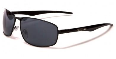 X-Loop Rectangle Men's Sunglasses Wholesale XL472MIX