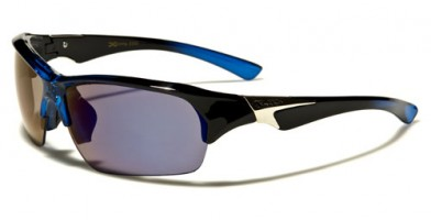 X-Loop Semi-Rimless Men's Bulk Sunglasses XL578MIX